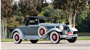 Preview wallpaper 1931, packard deluxe eight convertible, coupe