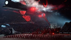 Preview wallpaper 2014 winter olympics closing ceremony, sochi 2014, olympic games