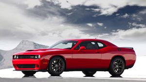 Preview wallpaper 2015, dodge, challenger, srt, hellcat