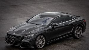 Preview wallpaper 2015, mercedes-benz, coupe, c217