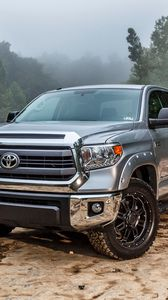 Preview wallpaper 2015, toyota, tundra, pickup