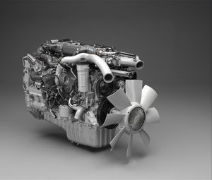 Preview wallpaper 3d, engine, strange, gray