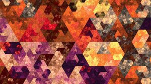 Preview wallpaper abstraction, geometry, mosaic, colorful