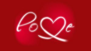 Preview wallpaper abstraction, love, lettering, red, white