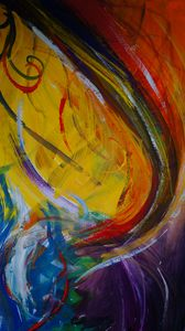 Preview wallpaper abstraction, colorful, paint, modern art