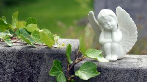 Preview wallpaper angel, statuette, harmony