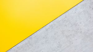 Preview wallpaper angle, triangle, yellow, gray, minimalism