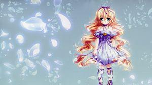 Preview wallpaper anime, girl, dress
