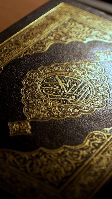360x640 Wallpaper arabic, islam, calligraphy, quran, macro, holy book