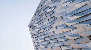 Preview wallpaper architecture, minimalism, building, facade, panels