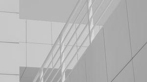 Preview wallpaper architecture, minimalism, railing, building