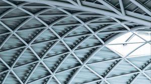 Preview wallpaper architecture, window, design, lines