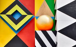 Preview wallpaper art, geometry, symmetry, colorful, pattern
