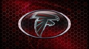 Preview wallpaper atlanta falcons, american football, logo