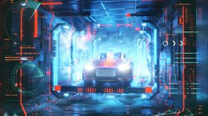 Preview wallpaper audi, car, energy, robot