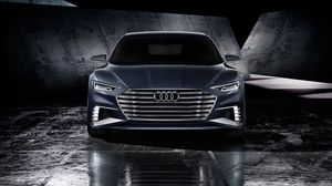 Preview wallpaper audi, prologue, avant, 2015, concept, front view