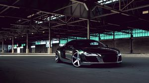 Preview Wallpaper Audi R8 Chrome Cw 5 Matte Black