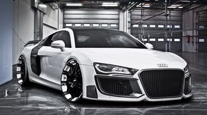 Preview wallpaper audi, r8, regula tuning, oxigin oxrock, r20