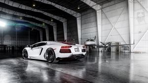 Preview wallpaper aventador, lamborghini, lambo, lp700