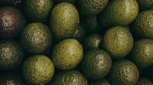 Preview wallpaper avocado, fruits, green, texture