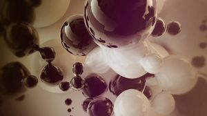 Preview wallpaper ball, light, faded, form, explosion