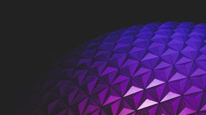 Preview wallpaper ball, relief, gradient, architecture, light, dark