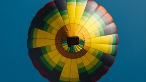 Preview wallpaper air balloon, colorful, sky, flight, height