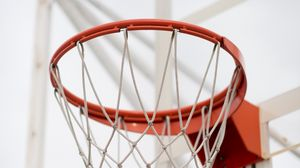 Preview wallpaper basketball hoop, basketball, hoop, sport
