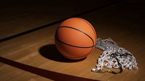 Preview wallpaper basketball, net, whistle, sports