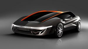 Preview wallpaper bertone nuccio, concept, side view