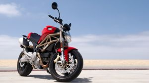 Preview wallpaper bike, ducati, motorcycle, red