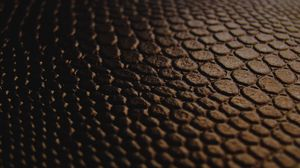 Preview wallpaper black, close-up, brown, chocolate, leather, texture, transition