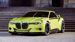 Preview wallpaper bmw, csl, hommage, side view