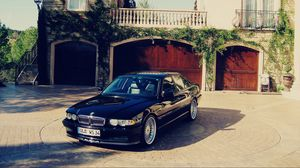 Preview wallpaper bmw, e38, 740, classic, tuning, alpine