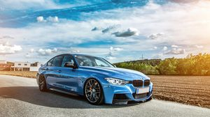 Preview wallpaper bmw, f30, 335i, tuning, stance