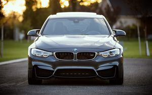 Preview wallpaper bmw, front view, car