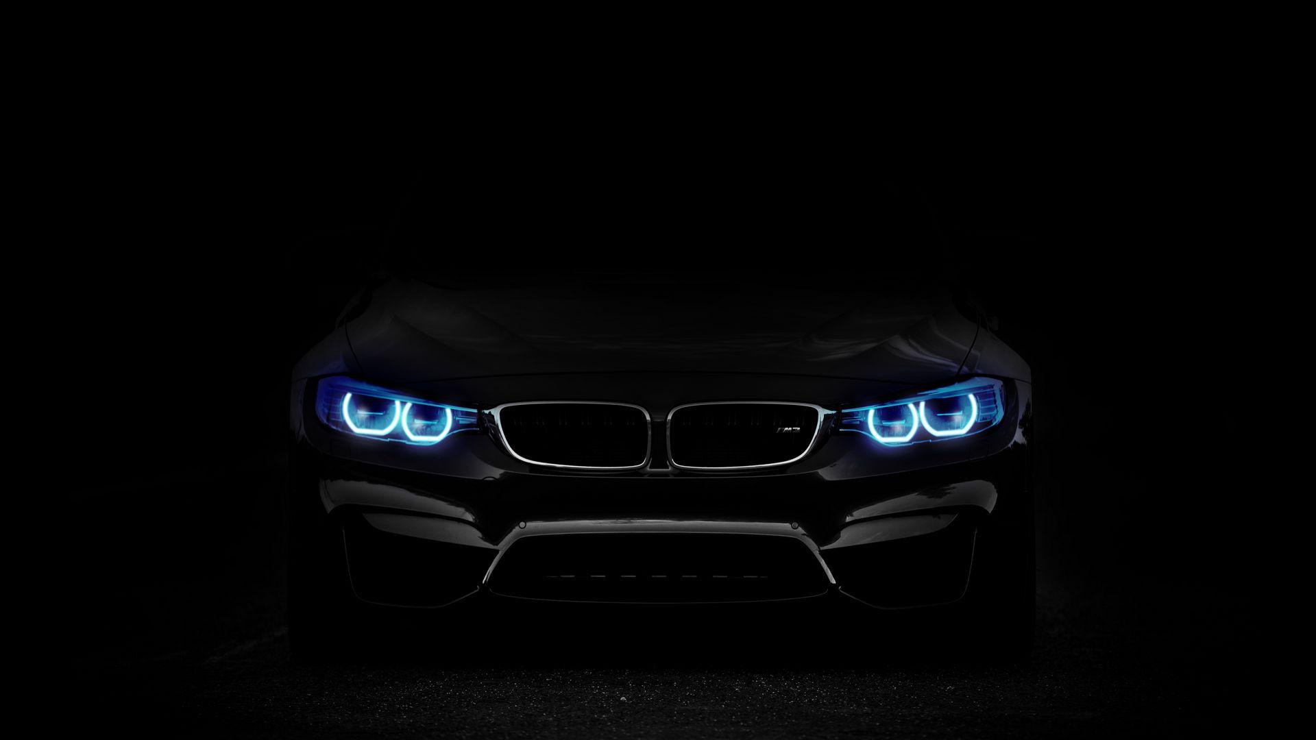 Download wallpaper 1920x1080 bmw, headlights, lights, car ...