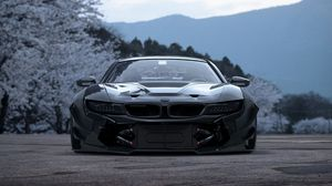 Preview wallpaper bmw, i8, front view, concept