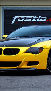Preview wallpaper bmw, m6, convertible, fostla, tuning, e63, 6 series