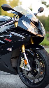 Preview wallpaper bmw s1000rr, bmw, bike, sports, motorcycle, black