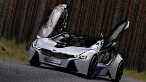Preview wallpaper bmw, vision, efficientdynamics, concept