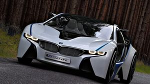 Preview wallpaper bmw, vision, efficientdynamics, concept, front view