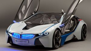 ... Preview wallpaper bmw, vision, efficientdynamics, concept, front view