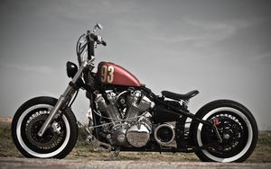 Preview wallpaper bobber, xv 1600, motorcycle, style, bike