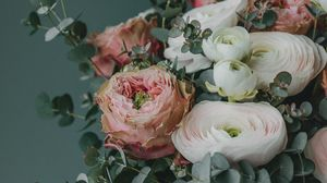Preview wallpaper bouquet, flowers, composition, decoration