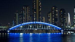 Preview wallpaper bridge eitai, tokyo, japan