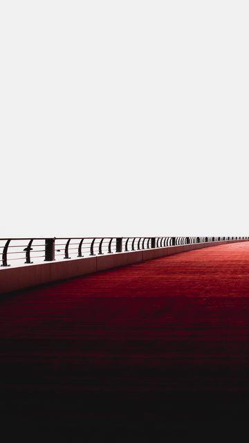 360x640 Wallpaper bridge, minimalism, railing, dubai, united arab emirates