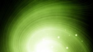 Preview wallpaper bright, light, crater, rotation, green