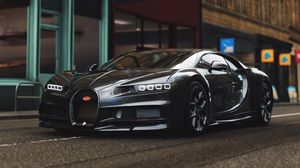 Preview wallpaper bugatti chiron, bugatti, sports car, supercar