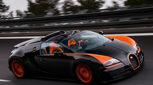 Preview wallpaper bugatti, grand sport, roadster, vitesse, wrc edition, veyron